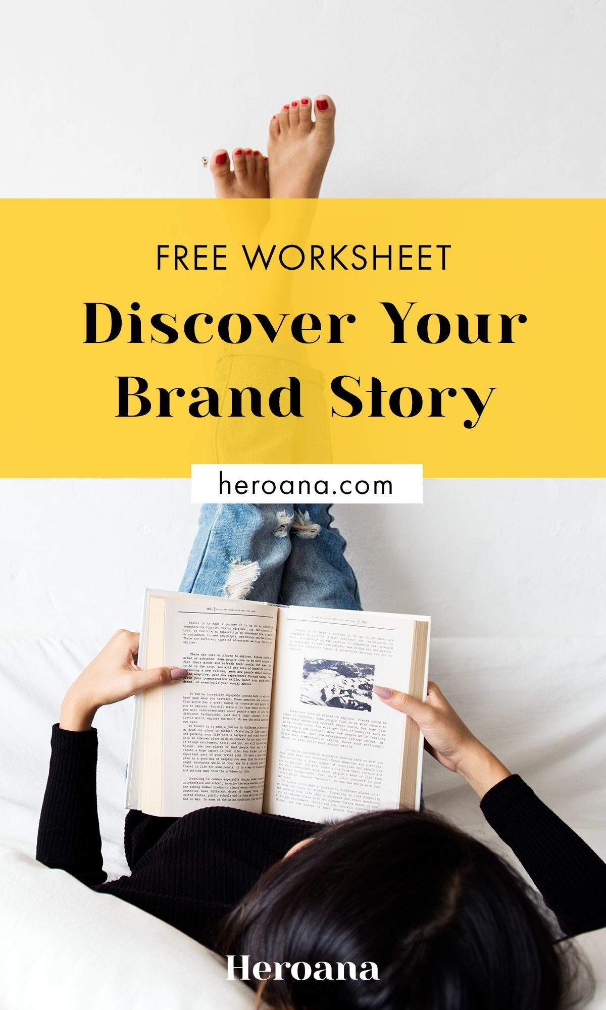 Free Worksheet Discover Your Brand Story