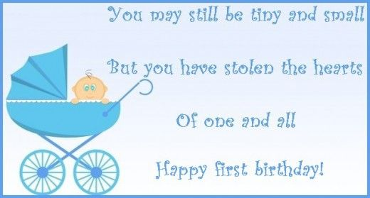 7820725 F520 Jpg 520 279 Pixels First Birthday Wishes 1st