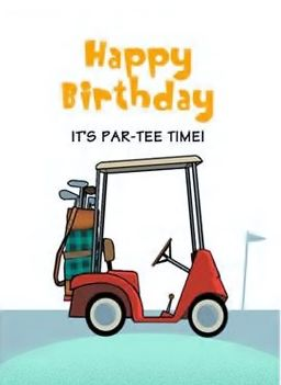 happy birthday golfer Happy Birthday   Golf   o.k. for man   Original Edit by lechezz  happy birthday golfer