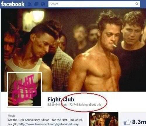 And what's the first rule of fight club?!