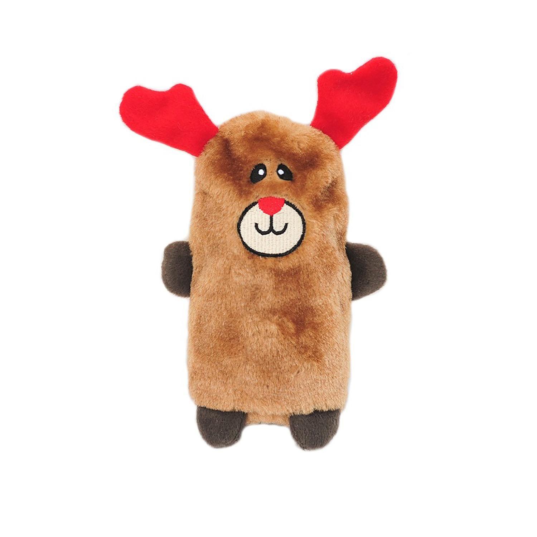 Zippypaws Holiday Colossal Buddie Dog Toy Reindeer Dog Toys