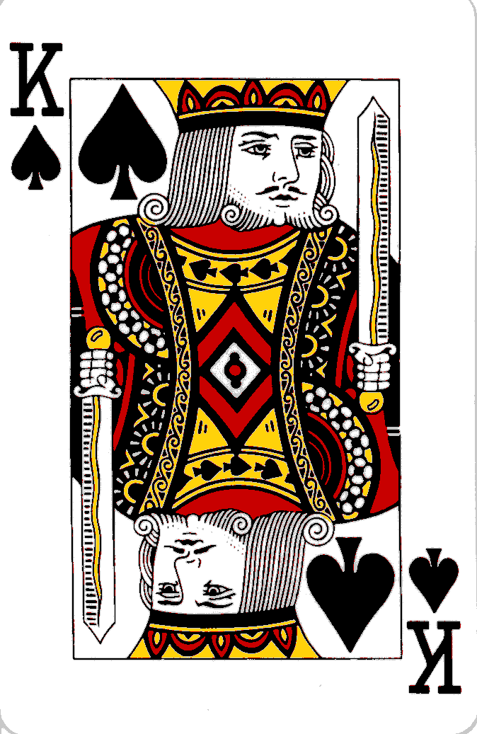 Cache Is King Wanna Pl At Y King Of Spades Playing Cards Cards
