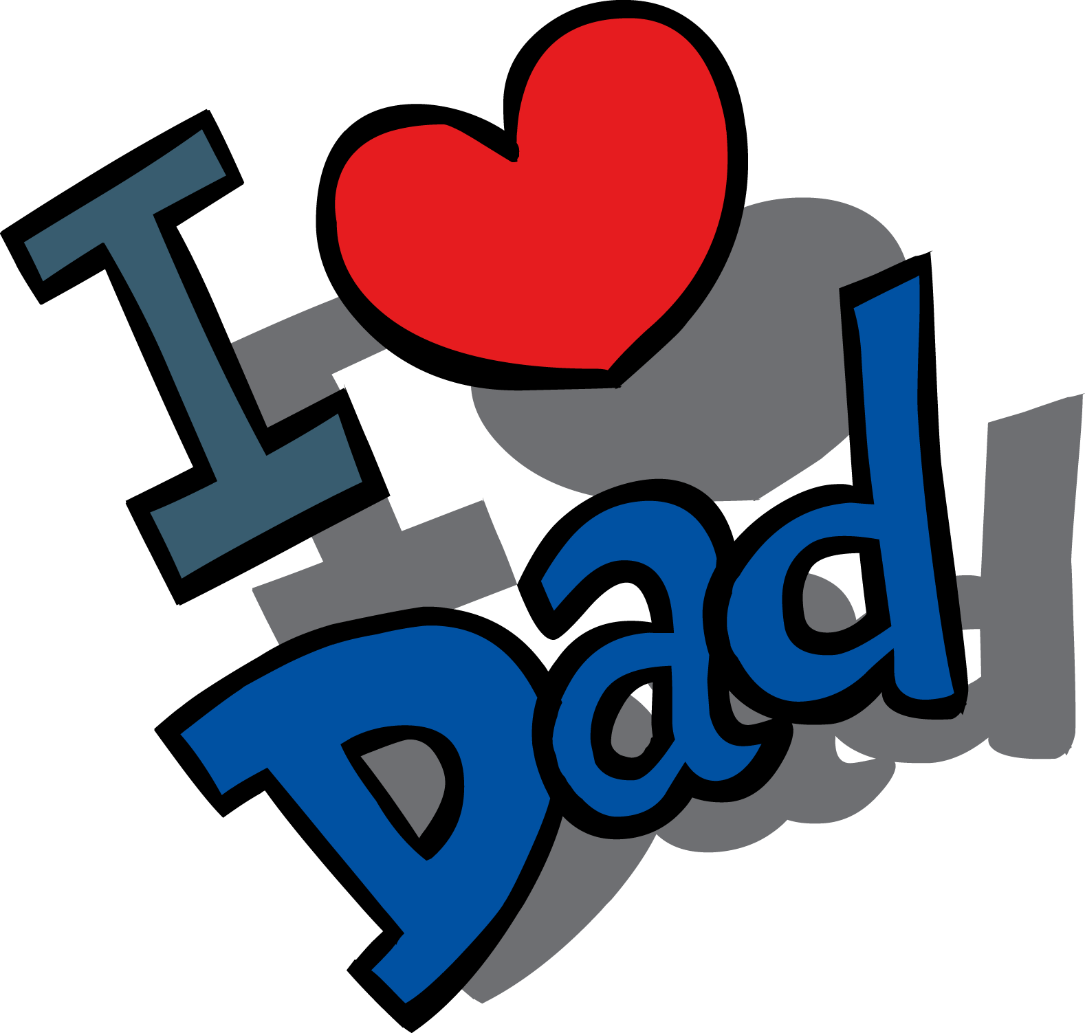 small resolution of fathers day free clip art father day clipart image 16379
