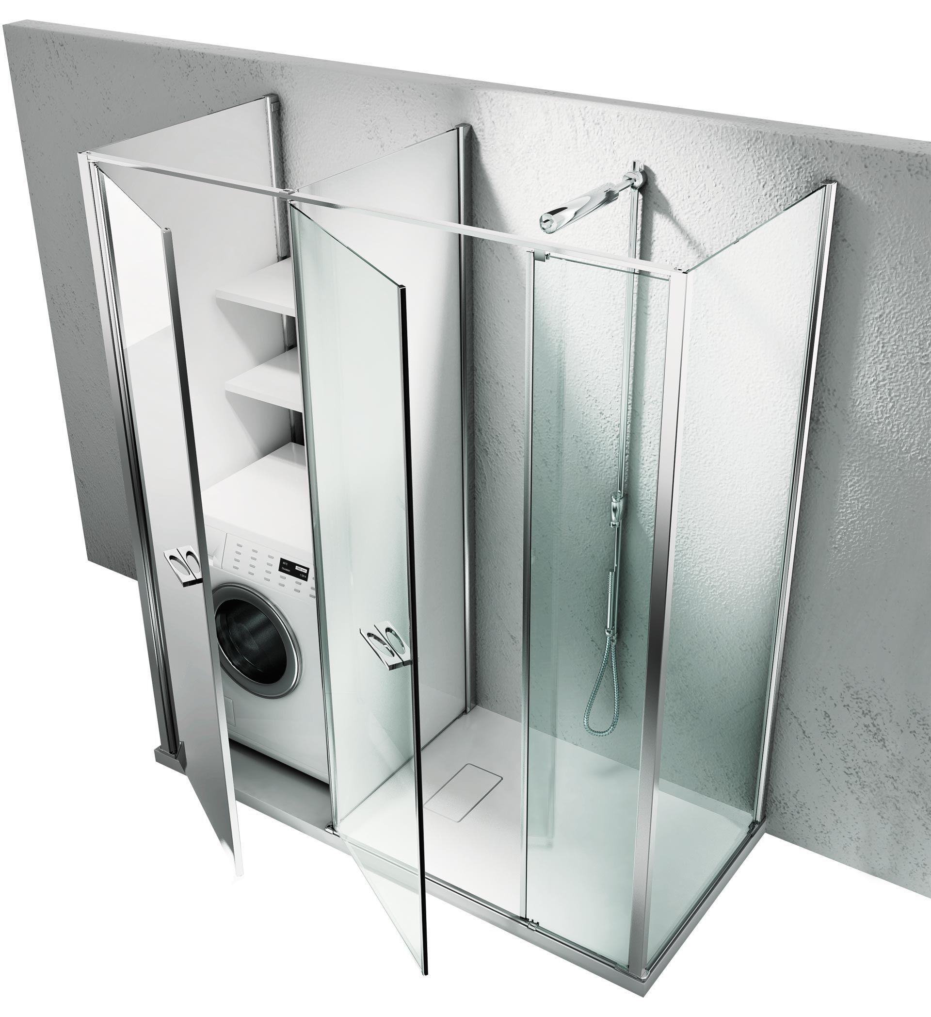 Twin collection by Vismaravetro spazioutile doccia