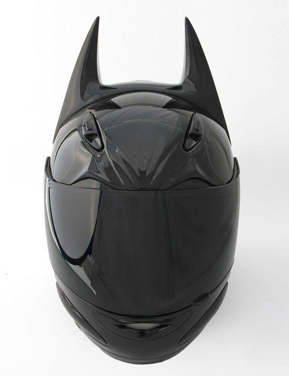 bat helmet custom motorcycle helmet for the ultimate batman fan casque batman et moto. Black Bedroom Furniture Sets. Home Design Ideas