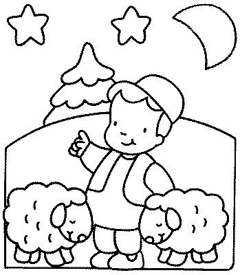 Boy And Sheep Coloring Pages Baa Baa Black Sheep Baa Baa Black