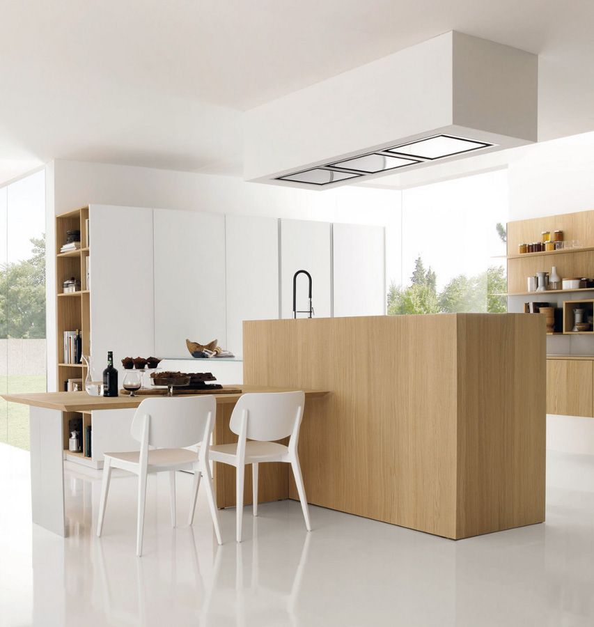 Fitted #kitchen KUBIC By @Gruppo Euromobil