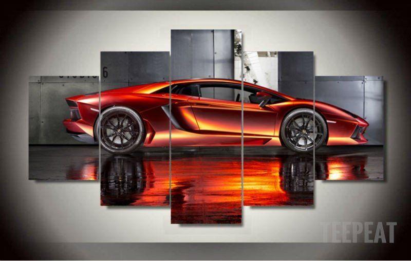 Chevrolet Corvette Race Supercar Gigantic HD Print Art POSTER Multi SIzes