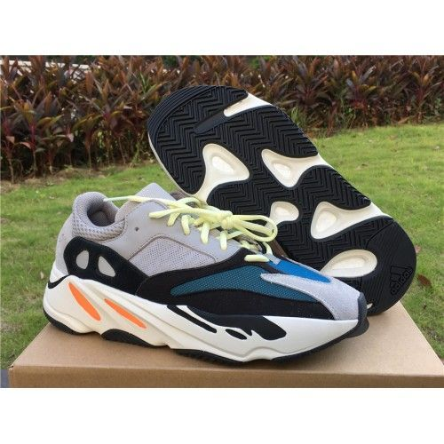 Cheap Shoes Clearance adidas Yeezy Wave Runner 700 Solid Grey Black Chalk White Basketball Shoe For Sale