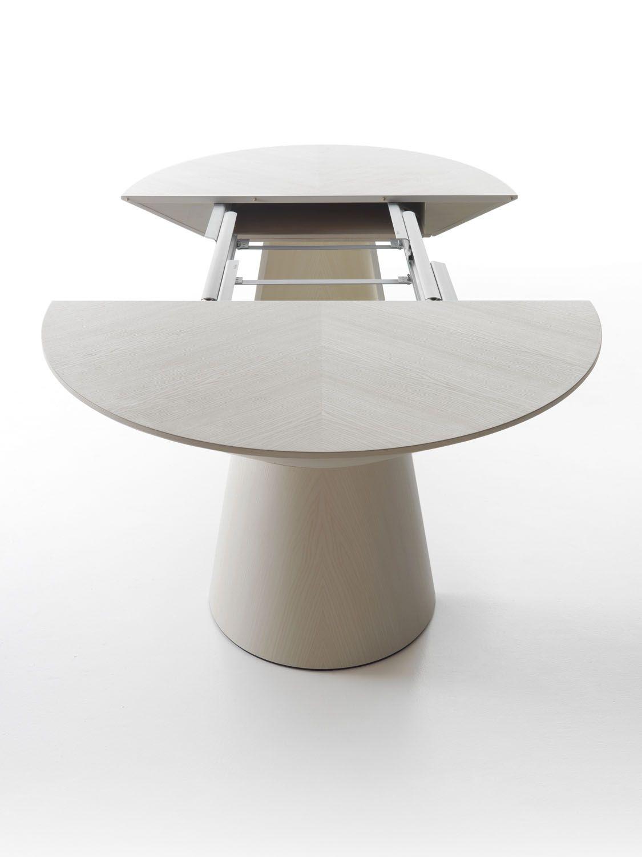 Adagio Oval Extendable Table Size Cm120lx190 350wx76h Designer