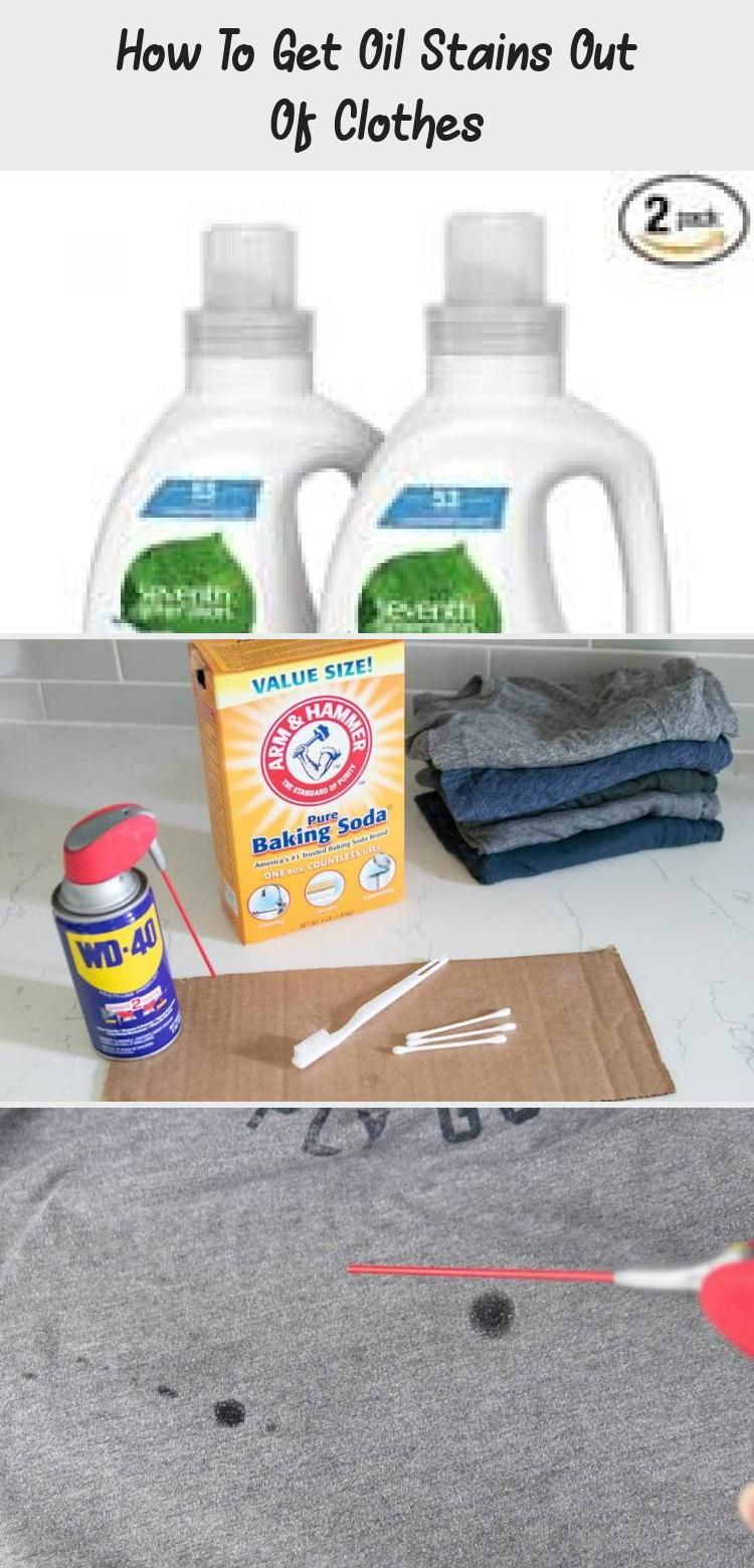How to get oil stains out of clothes in 2020 oils stains