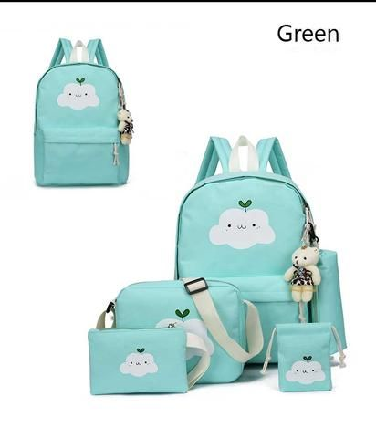 ee98c2bfde 2018 New Fashion Nylon Backpack Schoolbags School For Girl Teenagers Casual Children  Travel Bags Rucksack Cute Cloud Printing