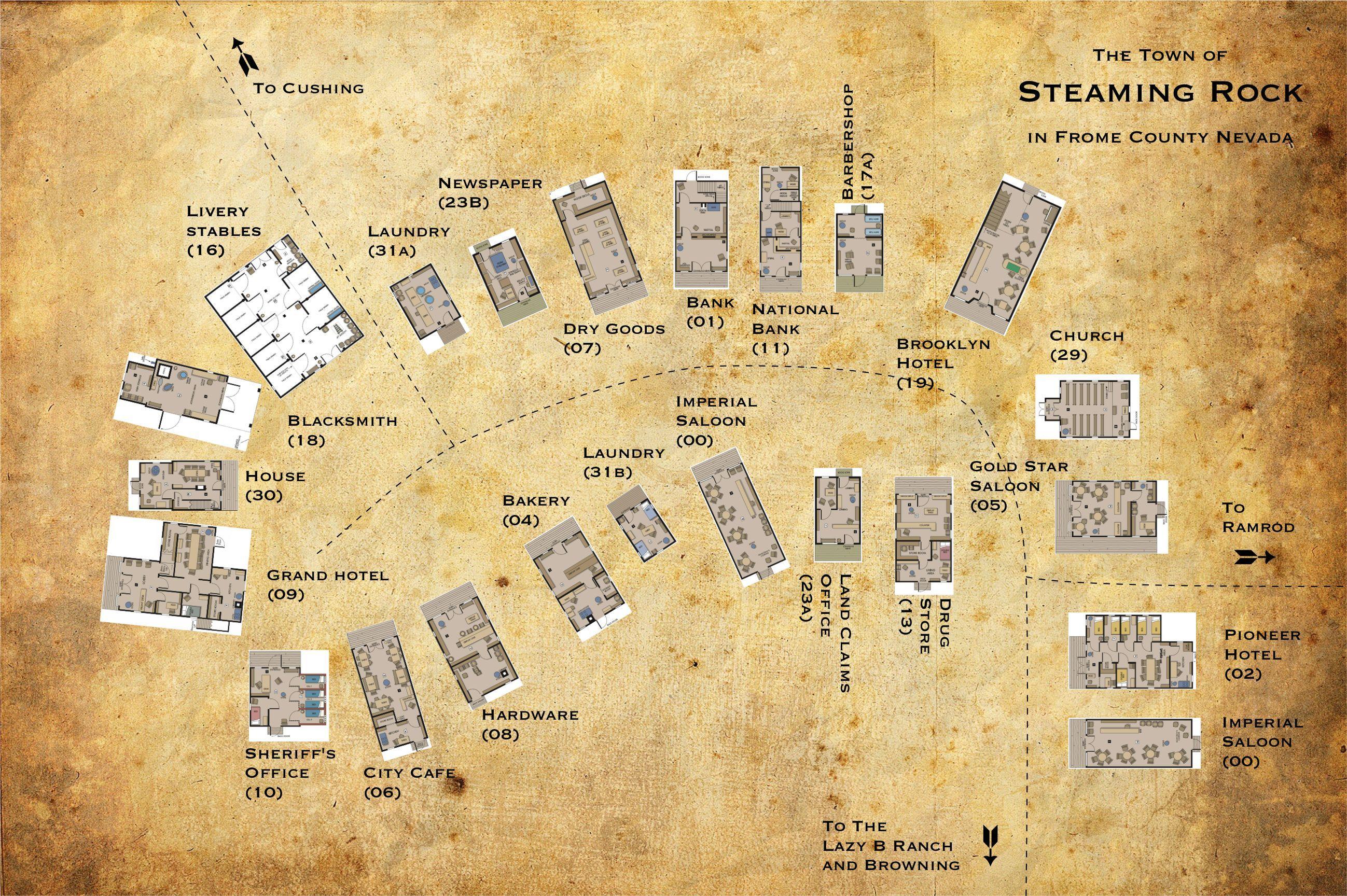 wild west town plan - Поиск в Google