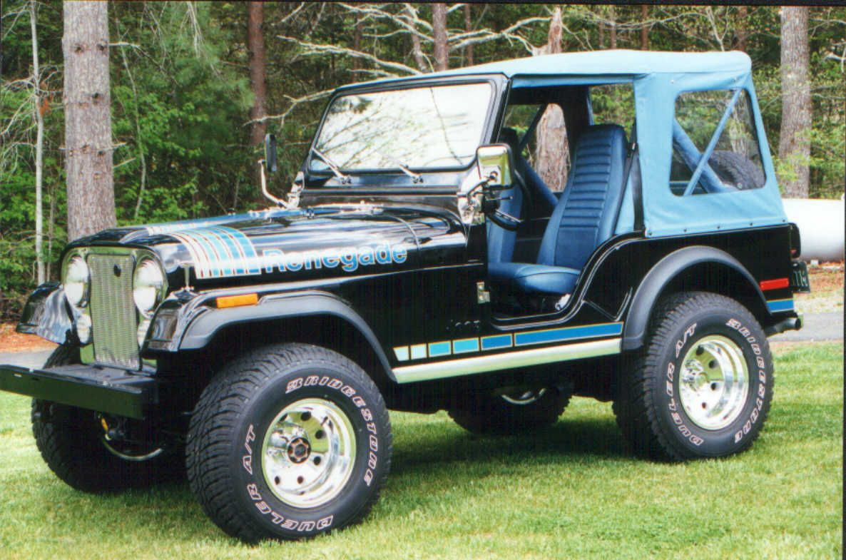 dad had a 1979 jeep cj-5 renegade levi edition back when. wasn't