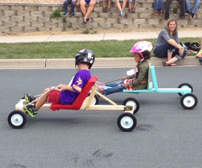 Easy Soap Box Derby Car Build With Images Soap Box Derby Cars