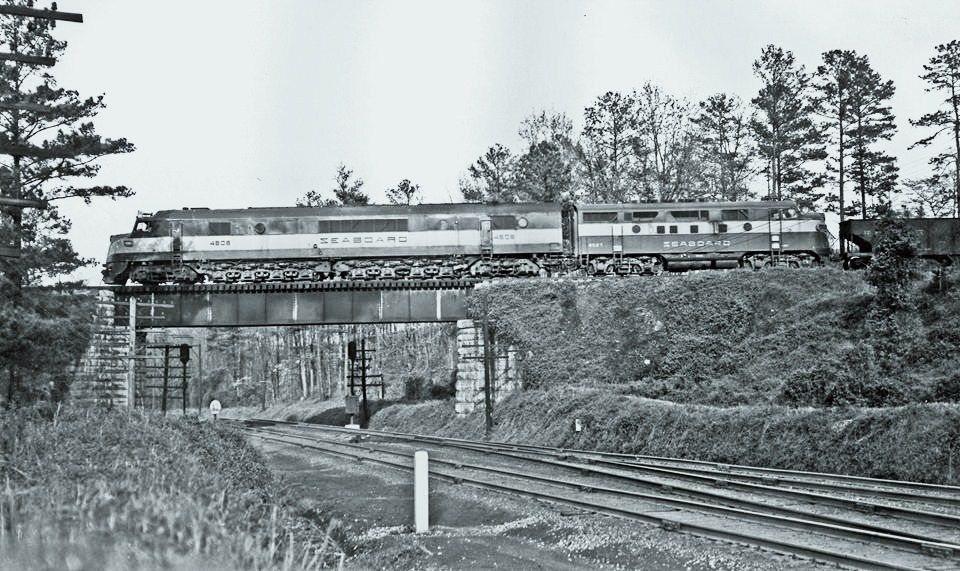 Seaboard Railroad Baldwin Quot Centipede Quot Diesel Locomotive