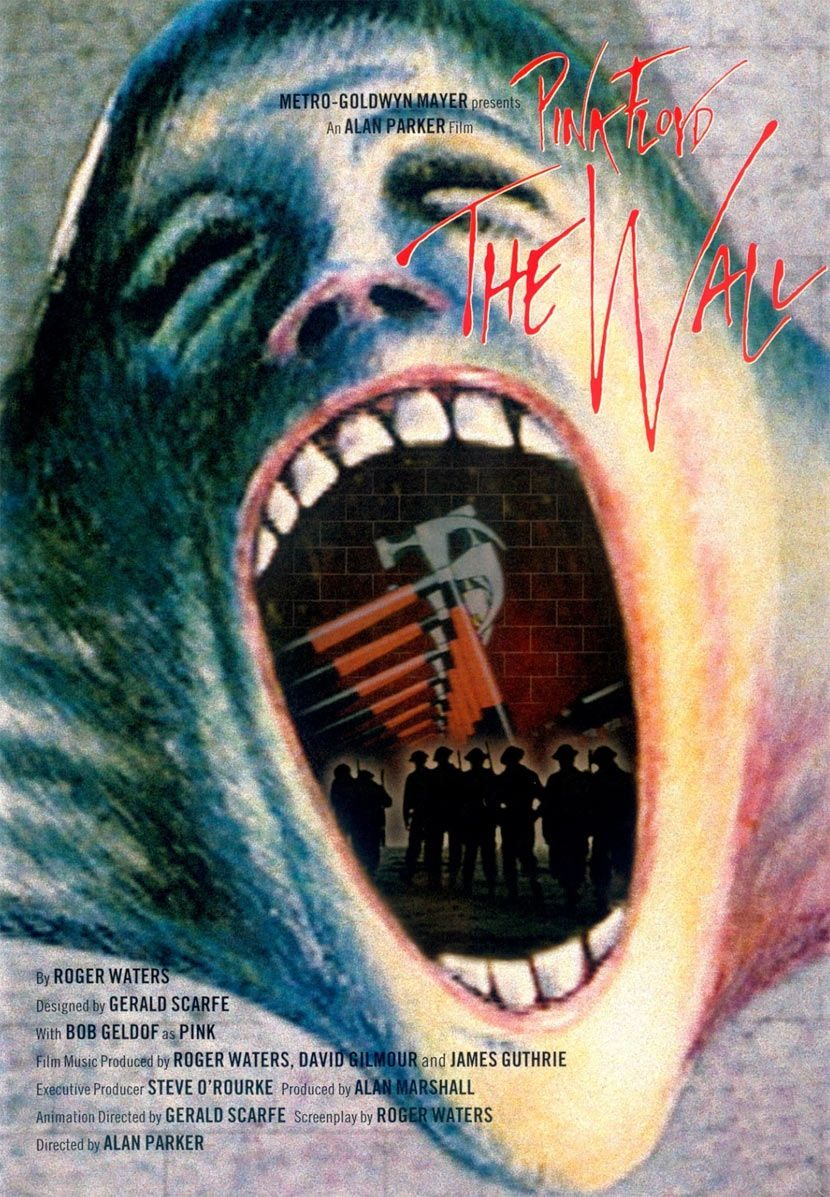 Image result for PINK FLOYD THE WALL ( 1982 ) POSTER