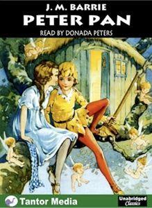 Capa de Peter Pan - J.M. Barrie - adaptação de Donada Peters