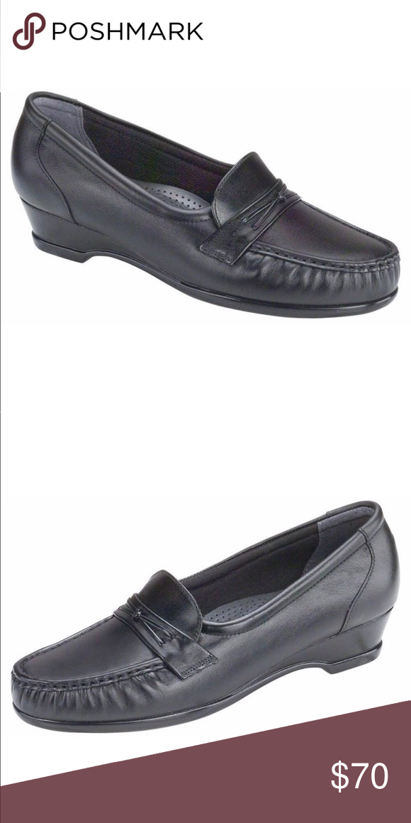 1157f3340e08 SAS EASIER BLACK Women s Shoes. Size 5 NEW IN BOX! G SAS Shoes Flats    Loafers