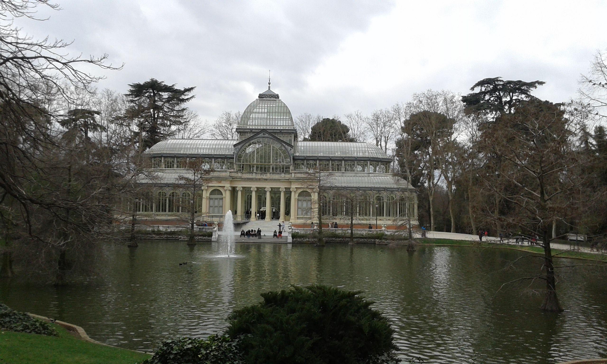 Palazzo Di Cristallo Parque Del Retiro Madrid Cristalli