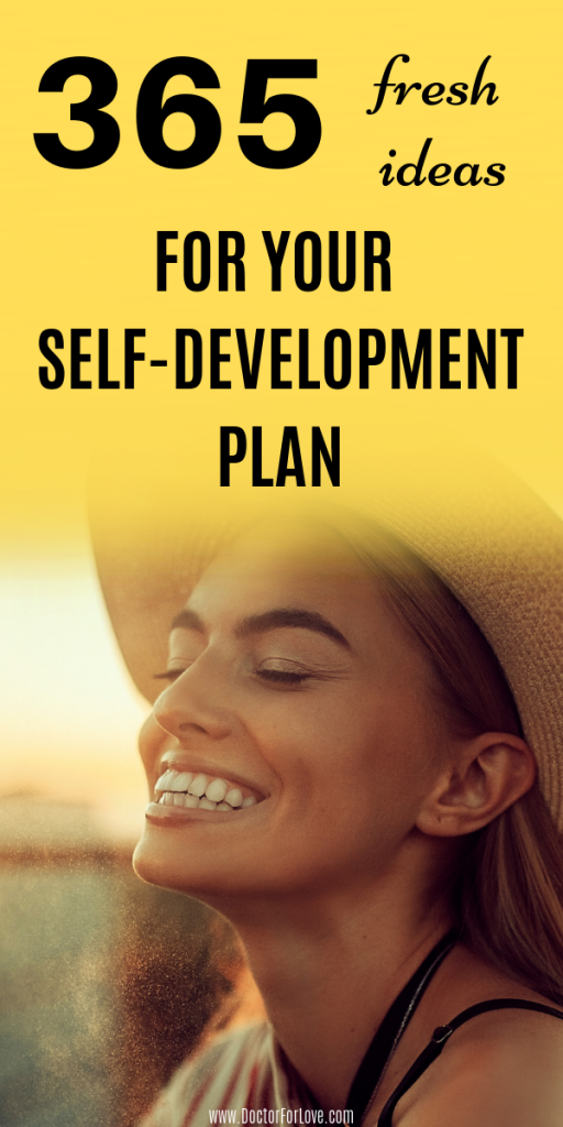 365 Fresh Ideas For Your Self-Development Plan | Part 1