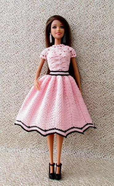 Pin von Vilma Umbrico auf Barbie | Pinterest | Puppenkleider ...