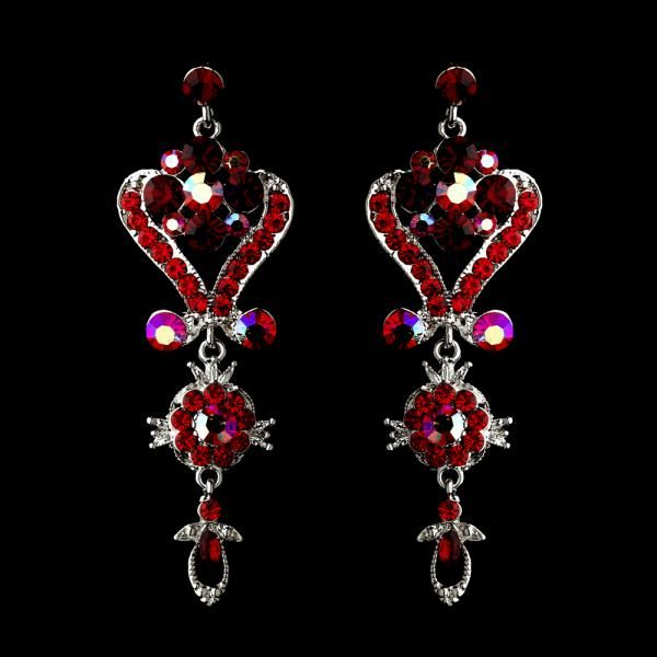 Red chandelier earrings from how divine httpshowdivine red chandelier earrings from how divine httpshowdivine aloadofball Choice Image