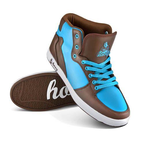 Brownee Wyjatkowe Brazowo Niebieskie Buty Sportowe Z Cholewka Do Kostek Cena 159 Zl Dc Sneaker Shoes Sneakers