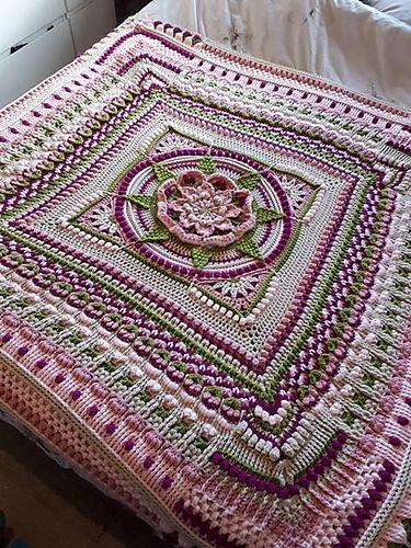 The Amanzi Block/Throw pattern by Jen Tyler | Pinterest ...
