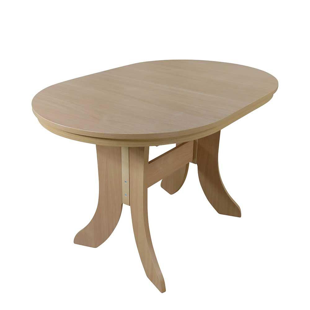 Ausziehbarer Kuchentisch In Buchefarben Oval Jetzt Bestellen Unter Https Moebel Ladendirekt De Kueche Und Esszimmer Tische Kuche Tisch Kuche Esszimmer Tisch