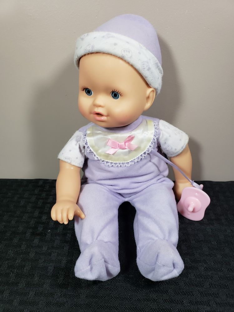 2006 Fisher Price Little Mommy Baby Doll Interactive Talking