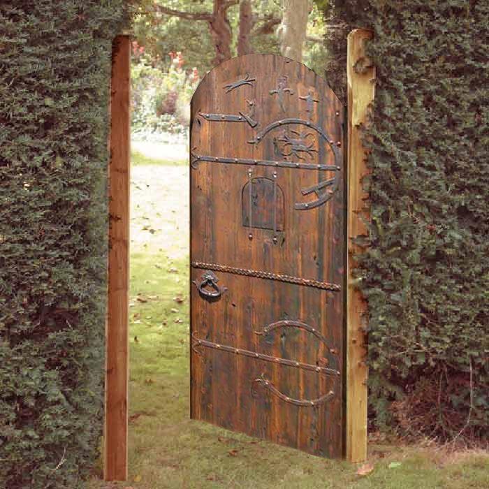 Gate Entrance Gate Viking Iron Cir 1100ad Gg444 Custom Gates Entrance Gates Wooden Garden Gate