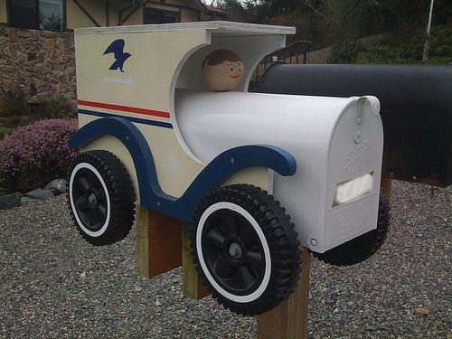Mail Car Mailbox!