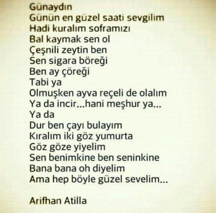 Günaydın Biricik обучение şiir Ilişki Sözleri Ve Aşk