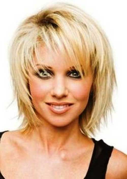 Best Haircuts For Fine Hair With Bangs : Medium layered haircuts over 50 medium layered bob hairstyles