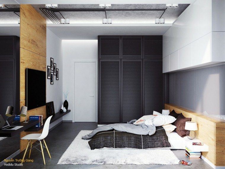Quelle couleur pour une chambre à coucher moderne Pinterest