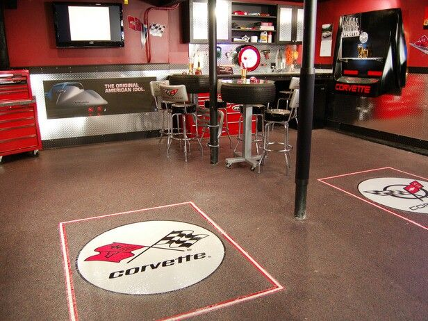 Swell Corvette Themed Man Cave New House Hubbys Garage In 2019 Download Free Architecture Designs Scobabritishbridgeorg
