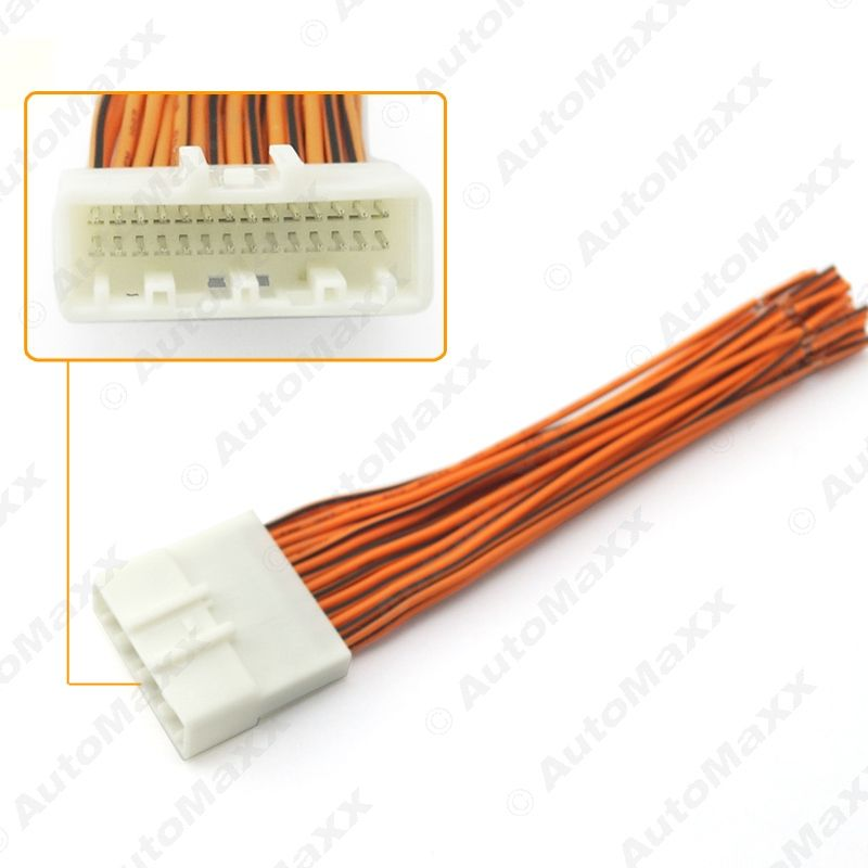 10 x Car Radio Stereo Wiring Harness Adapter Plug For Subaru ... Radio Wiring Harness Subaru on