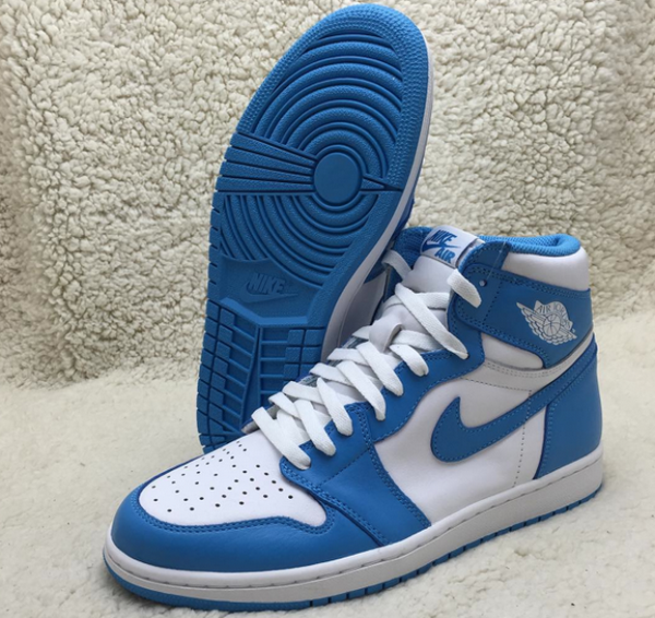 Authentic Cheap Jordan 1 High UNC