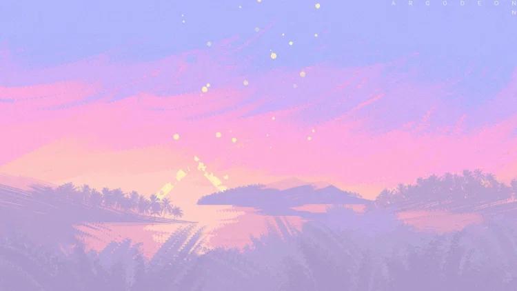 Stars In The Corner Morncolour Aesthetic Desktop Wallpaper Anime Backgrounds Wallpapers Desktop Wallpaper Art