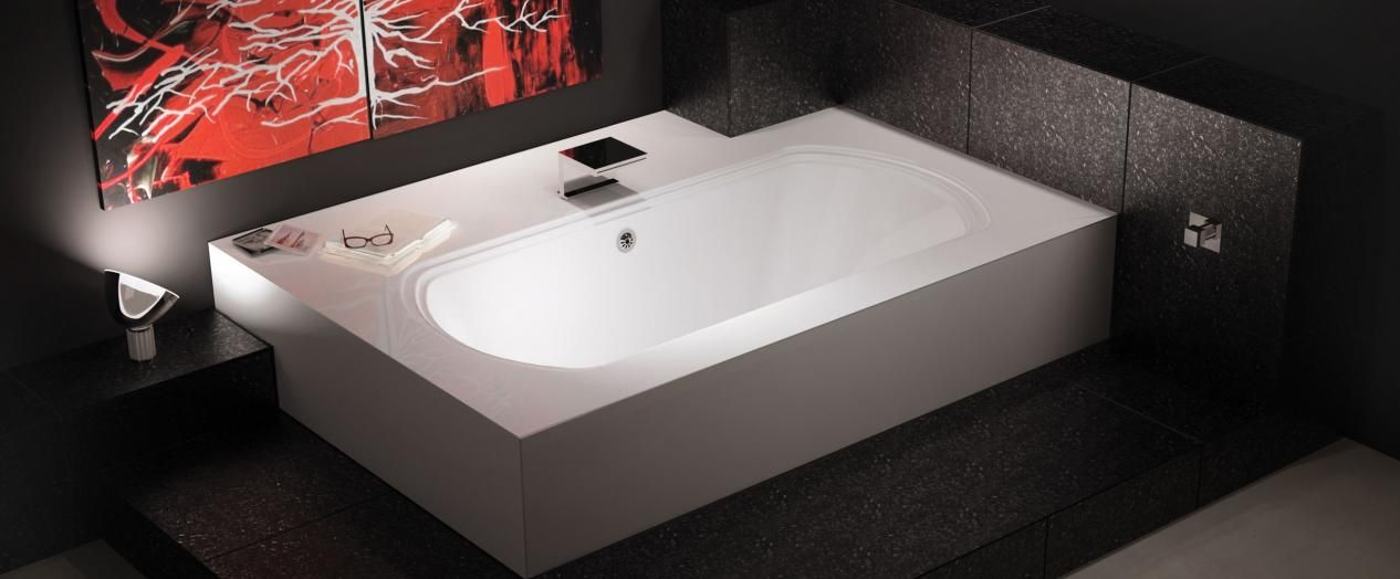 Bainultra Meridian® 60 two person large air jet bathtub for your ...