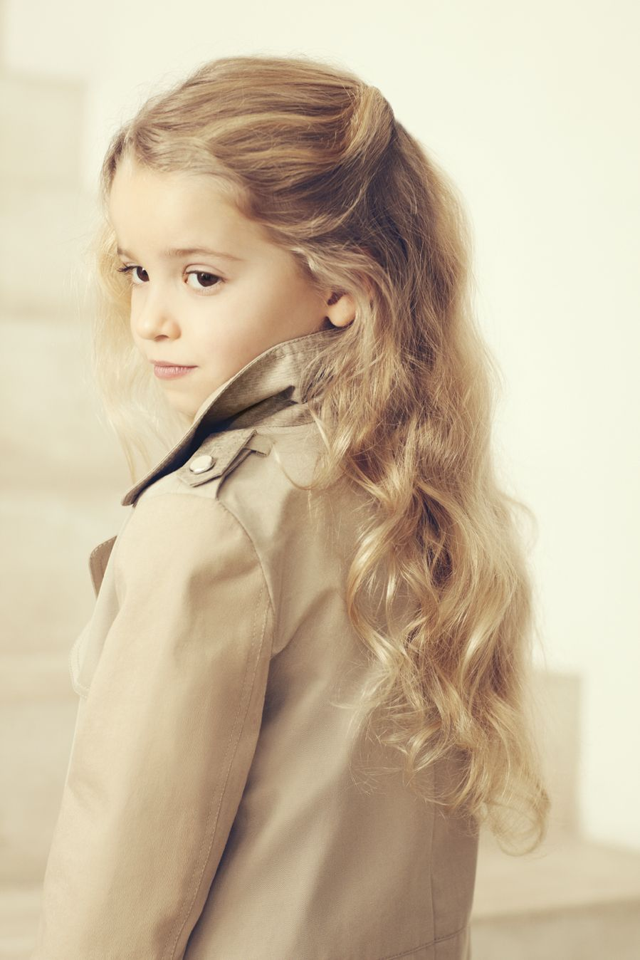 Chloe winter cool classic tailoring in neutral tones for kids