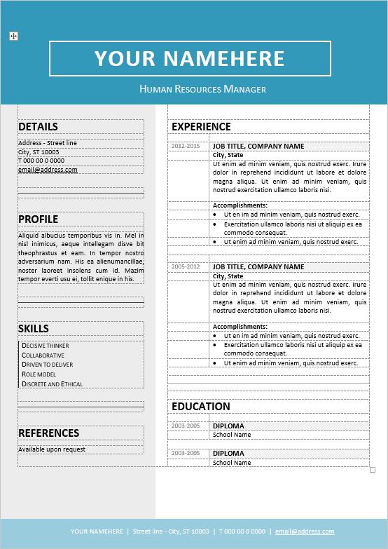 Free 2 Column Resume Templates Column Freeresumetemplates Resume Templates Free Printable Resume Free Printable Resume Templates Resume Templates