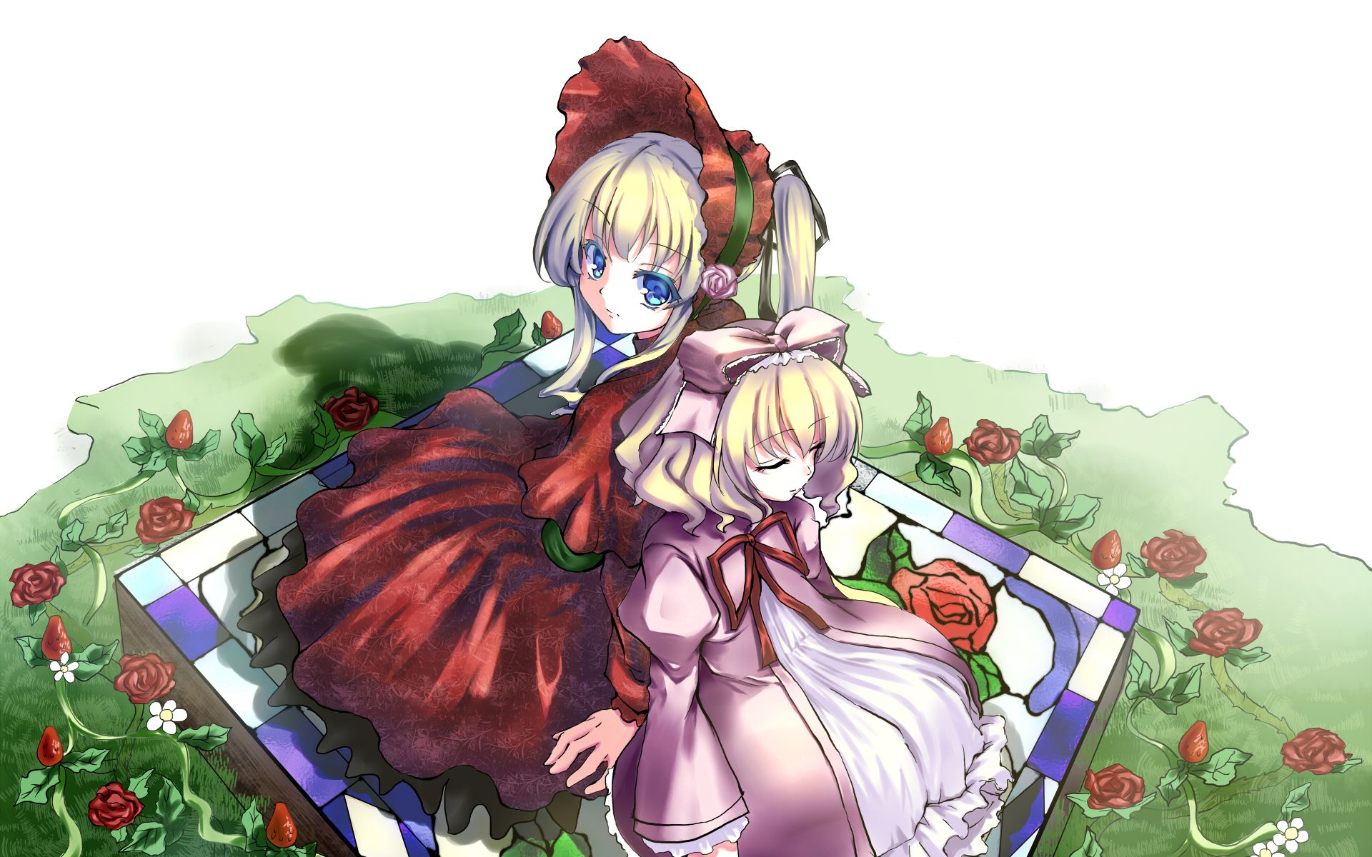 rozen maiden shinku hinaichigo