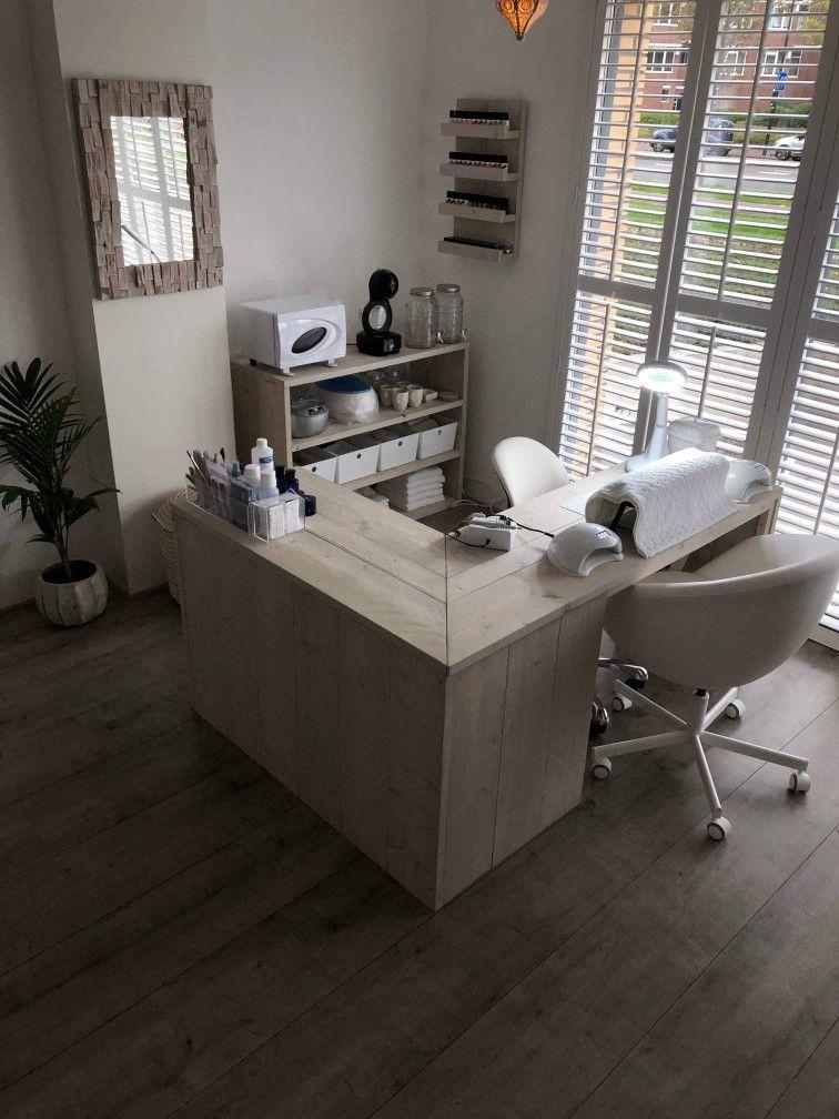 Manicure tafel steigerhout images