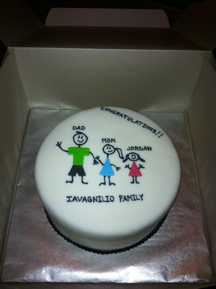 Adoption Cake Welcome To The Family