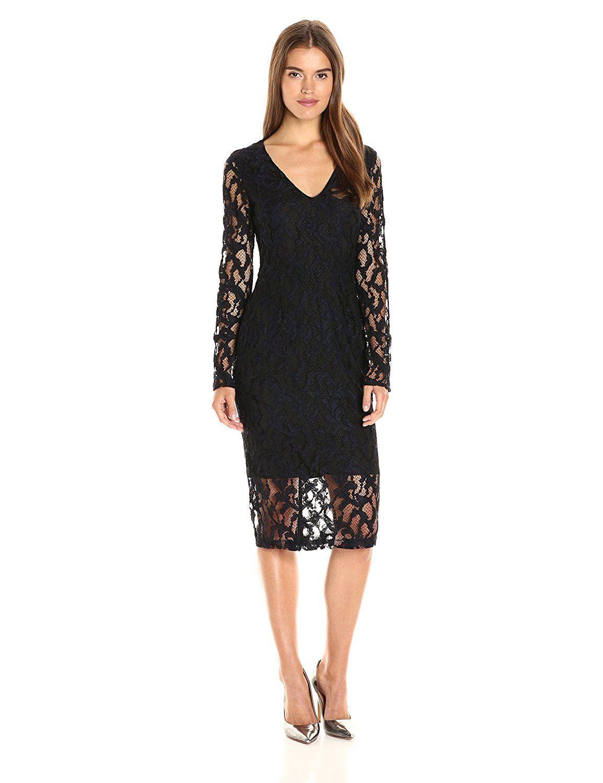 Rachel rachel roy womenus lace midi dress with back cut out at