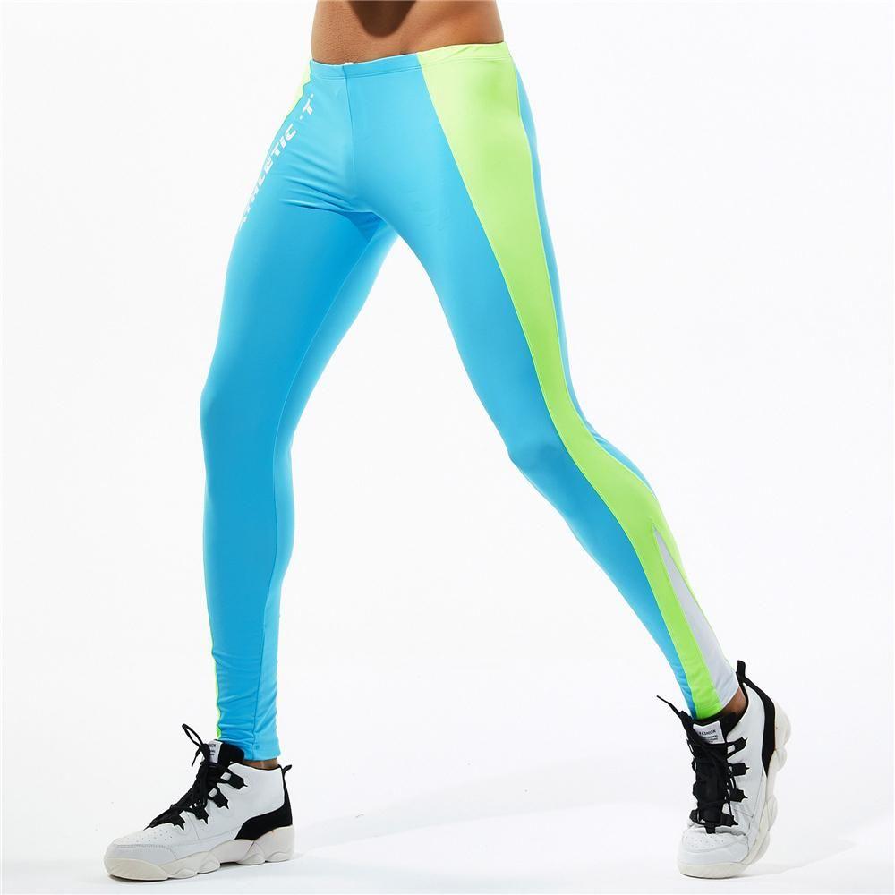 a6f64f3386 Running Tights Men Sports Legging Fitness Yoga Basketball Compression –  menstights