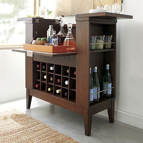 Parker Spirits Bourbon Cabinet | Crates, Front doors and Barrels