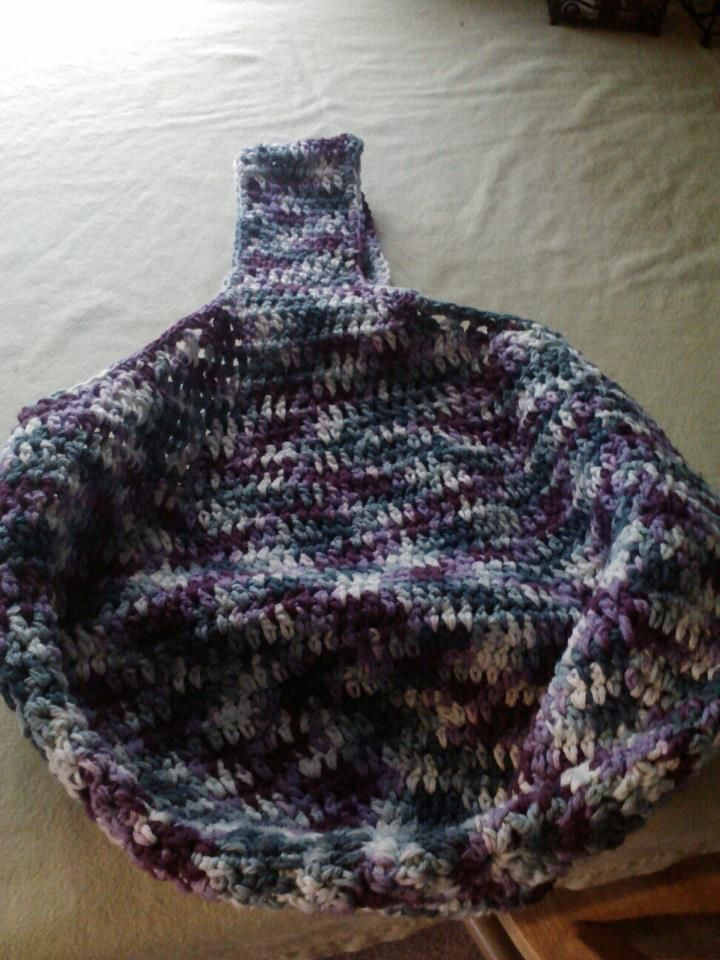 Market Bag - actually the second one I made.